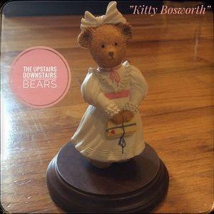 ❤️ 3/$15 Upstairs Downstairs Bears Kitty figurine